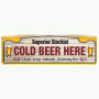 Bar Runner - Cold Beer Here