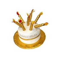 Golden Oldie Party Hat