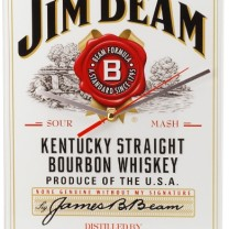 Jim Beam Wall Clock