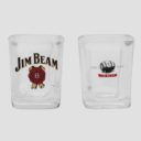 Jim Beam Shot Glasses (Set of 2)
