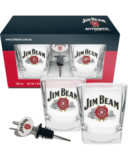 Jim Beam Spirit Glasses & Pourer