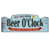 Wall Sign - Beer O'Clock