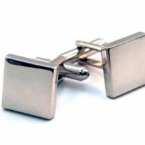 Cufflinks - Plain Square