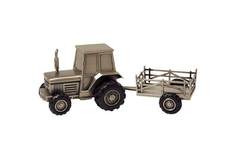 Money Box: Tractor and Trailer