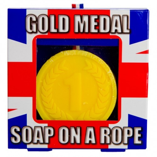 Gold Medal Soap on a Rope