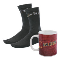 Jim Beam Mug & Sock Giftpack