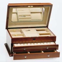 Jewel Box - Walnut Finish