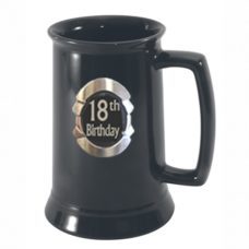 Beer Tankard: 18th Birthday
