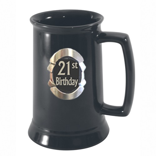Beer Tankard: 21st Birthday