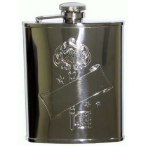 21st Key Hip Flask