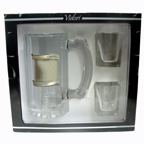 Glass Stein & 2 Shots
