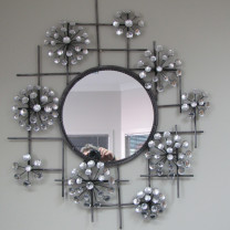 Gem Flowers Mirror