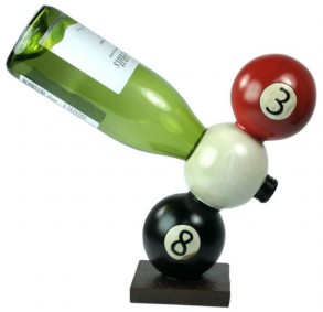 Magic 8 Wine Bottle Holder