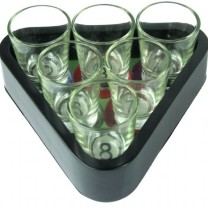 Magic 8 Shot Glass Tray