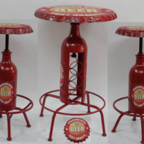 Premium Beer Bar Table Stool Set