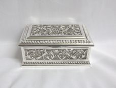Jewel Box: Chest with Scroll Patterns