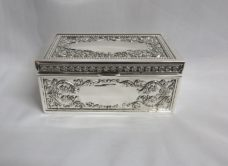 Jewel Box: Rectangle with Flowers