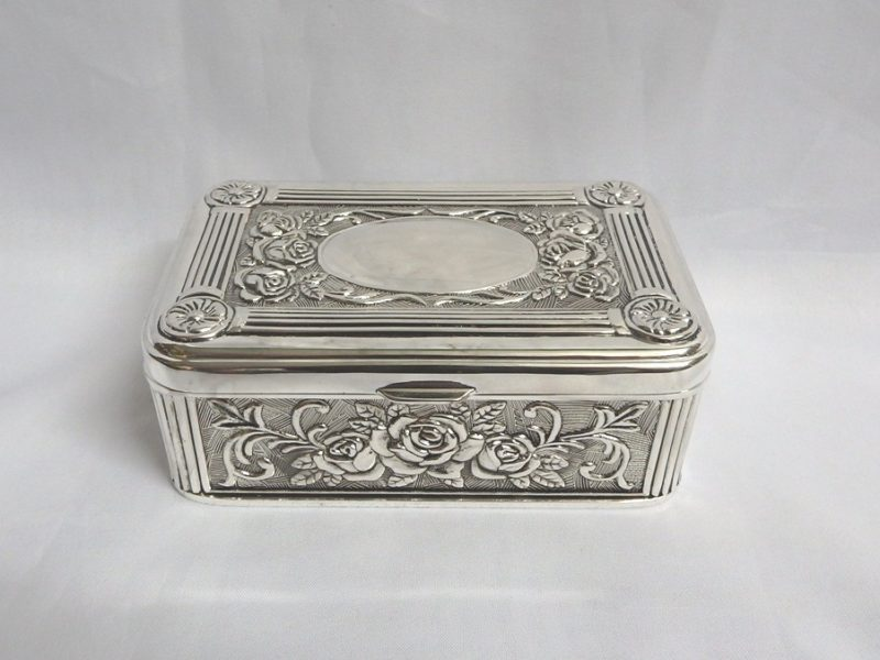 Jewel Box: Rectangle with Oval Center