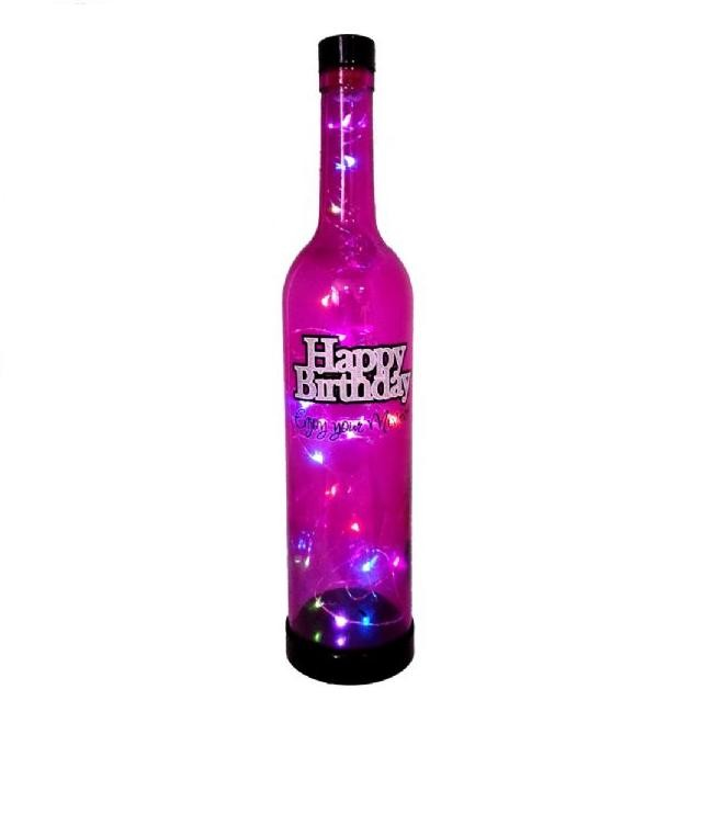 Magic Bottle LED: Happy Birthday