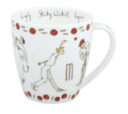 Bone China Mug: Cricket