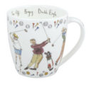 Bone China Mug: Golf