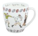 Bone China Mug: Rugby