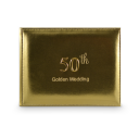 50th Golden Wedding Guest Book