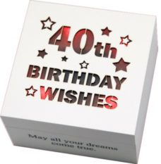 Starlight LED Wish Box: 40th
