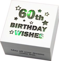 Starlight LED Wish Box: 60th