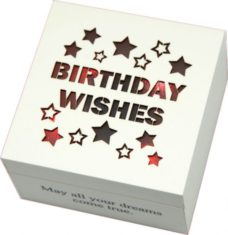Starlight LED Wish Box: Birthday