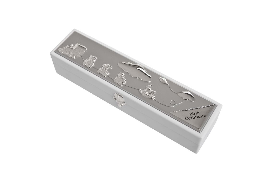 Birth Certificate Holder Box Giftware Engravers