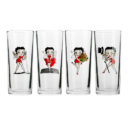 Betty Boop Hi Ball Glasses (Set of 4)