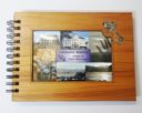 Wooden 21st Guestbook Photo Frame