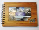 Wooden 50th Guestbook Photo Frame