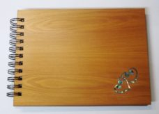 Wooden Hearts Guestbook