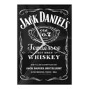 Jack Daniel's Full Label Glass Clock