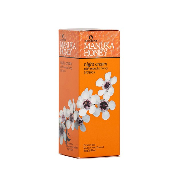 Manuka Honey Night Cream 80ml