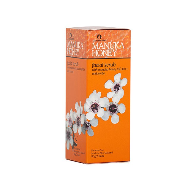 Manuka Honey Facial Scrub 80ml