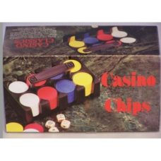 Casino Chips Plastic 120pc