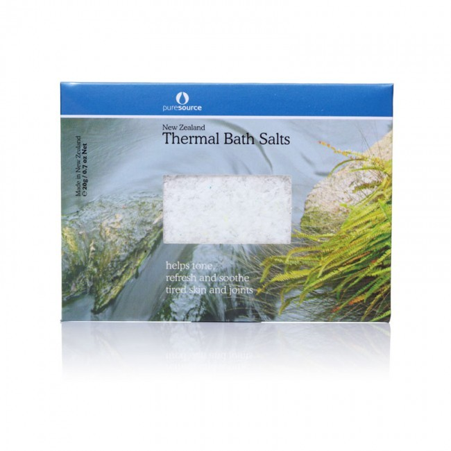 New Zealand Thermal Bath Salts 20g