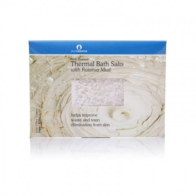 Thermal Bath Salts with Rotorua Thermal Mud 20g