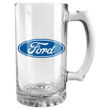 Ford Logo Glass Stein