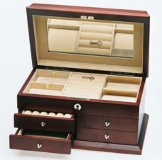 Jewellery Box Large (Rose Matte Finish)