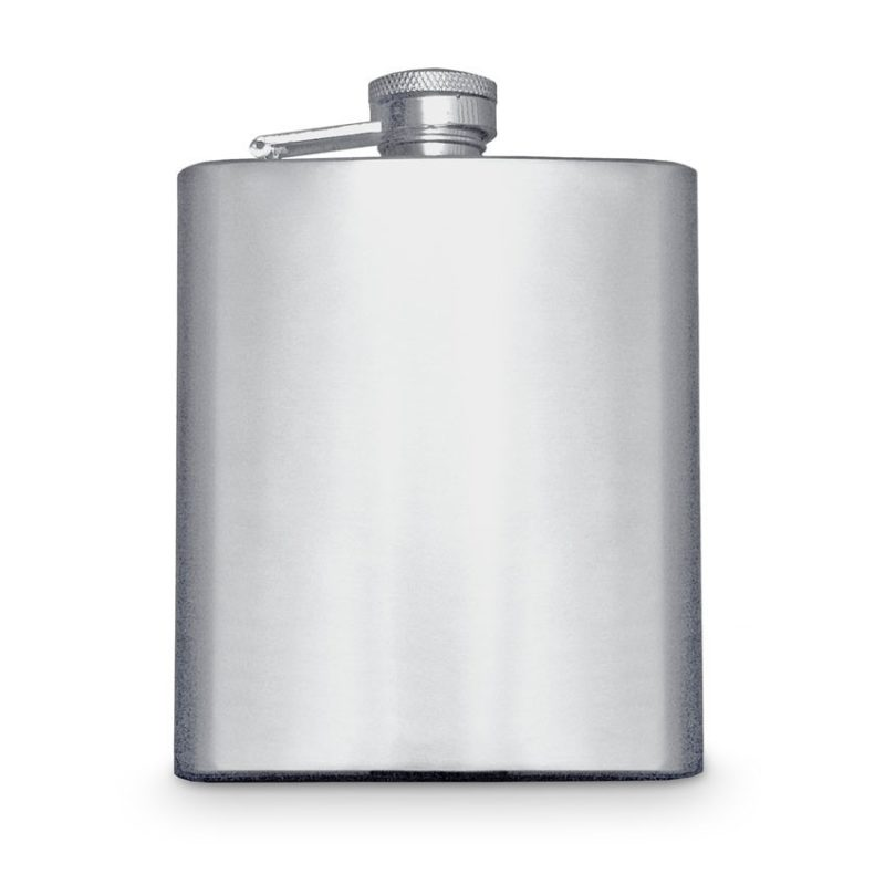 Hip Flask: Matte Plain
