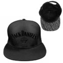 Jack Daniel's Logo Flat Peak Cap