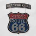 Metal Sign: Route 66