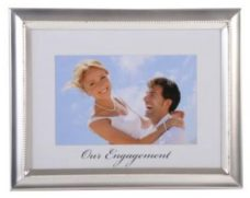 Our Engagement Photo Frame
