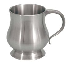 Mini Tankard – Georgian 5oz (Pewter) (Christening Mug)