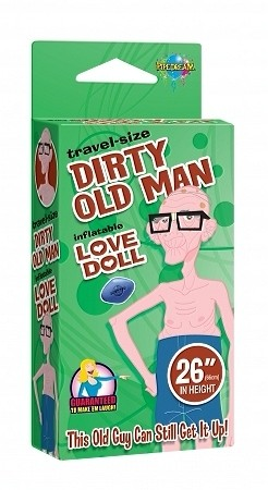 Travel Size Love Doll: Dirty Old Man