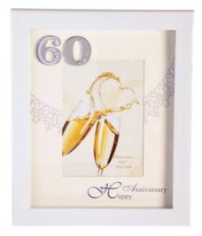60th Wedding Anniversary Frame